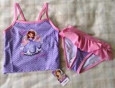 Girls Disney Princess Gorgeous Sofia The First Bikini/Swim Tankini Set ~ 3-4 Yrs