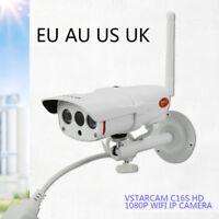 1080P Outdoor Wireless Camera WIFI IP CCTV Surveillance Security IR Monitor.