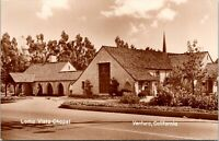 Vtg 1950's RPPC Loma Vista Chapel in Ventura California CA Postcard