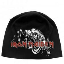 Iron Maiden Number of The Beast Jersey Beanie Hat Official Heavy Metal
