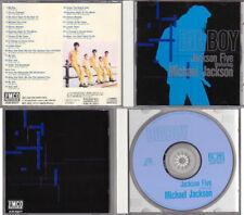 Michael Jackson 5 Five J5 CD BIG BOY Steeltown Collector Edition Japan 1993