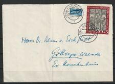 Bund BRD Marienkirche Nr. 140 EF Brief Hannover - Göttingen, Mi. 150 Euro