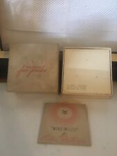 Vintage Revlon Wind Milled Face Powder Late 40s 50s NOS Vanilla Frost