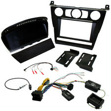 BMW 5 Series E60 2003-07 Double Din Car Stereo Fascia Fitting Kit With Pocket