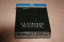 The Ultimate Matrix Collection (Blu-ray Disc, 2008, 7-Disc Set) *Brand New*