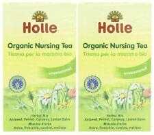Holle organic nursing thés - 20 sachets de thé (pack de 2)