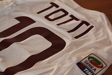 TOTTI - 10-A.S. Roma 2011 - 2012-M-KAPPA ™ MATCH WORN SHIRT AWAY.