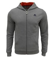 Kappa Men's Authentic Marta Slim Fit Hoodie Grey
