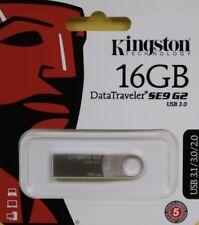 GENUINE Kingston DataTraveler SE9 G2 16GB USB 3.0 Type A Flash Drive BRAND NEW