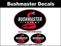 Bushmaster Firearms Decal Set - rifle ammo hunting gun