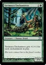 YAVIMAYA ENCHANTRESS Tenth Edition MTG Green Creature — Human Druid Unc