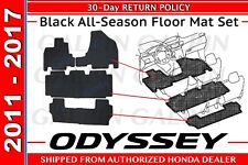 Genuine OEM Honda Odyssey All Season Floor Mat Set 2011-2017 (08P13-TK8-110A)