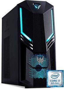 Acer Predator Orion 3000  Gaming i7-8700 3.2GHZ 16GB 128SSD+2TB GTX1060 6G WIN10