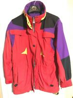 AWESOME NORDICA Sportsystem ULTREX Ski Coat Size 6 Winter Jacket hidden HOODIE