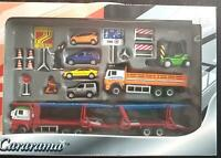 CARARAMA ROAD WORKS GIFT SET - DIE CAST CARS TRUCKS - COLLECTOR'S JOY - in BOX
