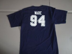 Blue Dallas Cowboys NFL Football #94 DeMarcus Ware Youth XL Jersey T-Shirt NICE