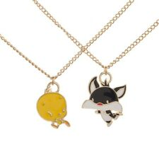Looney Tunes Tweety Sylvester Necklace Set Best Friends Bff Besties Girls Cat