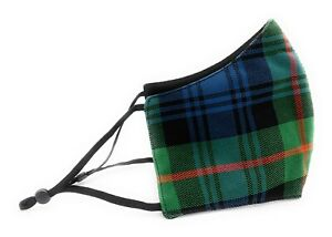 Murray Of Atholl Face Mask With Adjustable Straps Triple Layered Reusable