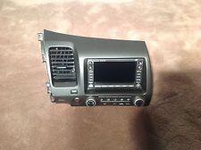 06-09 Honda Civic Head Unit And AC Controls OEM