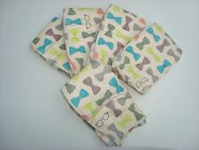 The Honest Company Bowties Print Diapers, Size 1 - 8-14 Pounds, Set Of 5