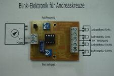 Blinkelektronik für 4 Andreaskreuze (Z)
