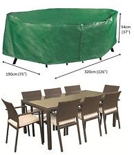 Bosmere B337 Polyethylene waterproof 8-10 seater rectangular patio set cover
