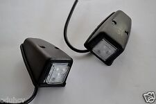 2x White Front LED Lights Cabin Roof Door Marker Lamps for DAF SCANIA IVECO MAN