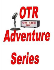 OLD TIME RADIO ADVENTURE SHOWS VOL.1 MP3 DVD 850+ SHOWS