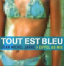 ☆ CD SINGLE Jean-Michel JARRE EIFFEL Tout est bleu 2-track CARD SLEEVE  RARE ☆