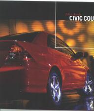 2004 Honda Civic Coupe Sales Catalog