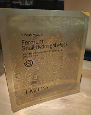 TONYMOLY Timeless Ferment Snail Hydro Gel Mask - Korean Cosmetic