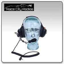 Racing Headset BTH Behind the Head w/ KENWOOD Cord - Radios Electronics