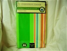 Nip Bed Bath & Beyond Waterproof Woven Fabric Summer Stripe Tablecloth 60x102