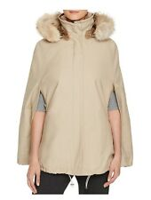 Theory Florenna Fur-Lined Cape Size P $1,555