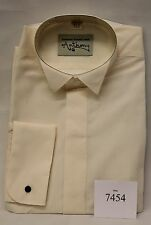 "ANTHONY FORMAL WINGED CREAM SHIRTS SIZE 15.5"" COLLAR BNWT SHIRTS  REF 7454"