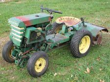 1959 Bolens Ride-a-matic garden tractor with Rear Mounted Tiller