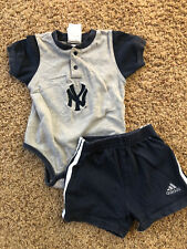 ADIDAS NEW YORK YANKEES Baby Boy Outfit ~ 12 months ~ Baseball