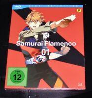 Samurai Flamenco Vol. 1 Episodi 1-6 blu ray Veloce Nuovo e Confezione Originale
