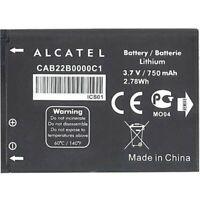 Alcatel Batteria originale CAB22B0000C1 per OT-2010D 750mAh Pila Nuova Bulk