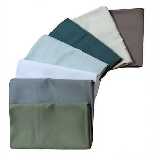 Super Silky Soft Pillowcases 100% Bamboo Viscose 600 Thread Count (Pair)
