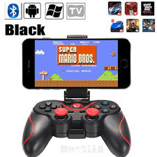 Black Wireless Bluetooth Gamepad Game Controller For Android Phone TV Box PC