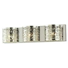 Home Decorators Carterton 3-Light Xenon Chrome Vanity Light with Crystal Accents