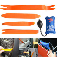 5x Pump Wedge Clamps Panel Removal Open Pry Tools Kit Dash Door Radio Trim Panel