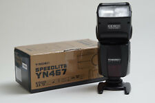 Yongnuo YN-467 Aufsteckblitz Speedlite mit TTL für Nikon DSLRs Zoomfunktion