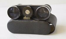 Vintage Collectible German Opera Theater Glasses Binoculars THESIS III In Case