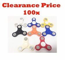 Joblot Wholesale Small Fidget Spinner Hand Focus Ultimate Spin Stress Toys 100x