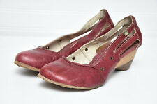 El Naturalista Womens Comfort Leather 550 Papua Slip On Pump Wedge Shoes Sz 38
