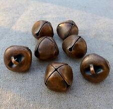 10pcs - Big 20 mm copper tone jingle bells Charm Christmas Pendant