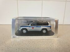 SPARK MODELS - TOYOTA LAND CRUISER 100 - RUSSIAN POLICE - 1/43 SCALE MODEL  A003