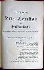 Wilhelm Keil: Neumanns Orts- Lexikon des Deutschen Reichs; 1894